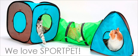 猫のアスレチック SPORTPET
